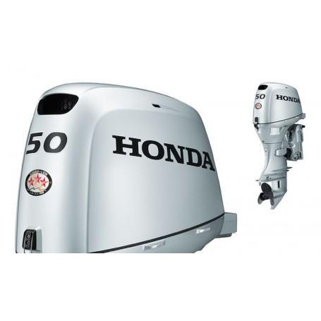 Honda BF 50 Rövid Tribes Csónakmotor Önindítóval,Távirányítóval és Elektromos Kiemeléssel Propeller Nélkül