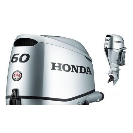Honda BF 60 Hosszú Tribes Csónakmotor Önindítóval és Elektromos Kiemeléssel Propeller Nélkül