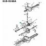 MTD Cub Cadet Hajtómű Kapcsoló villa 611-0011